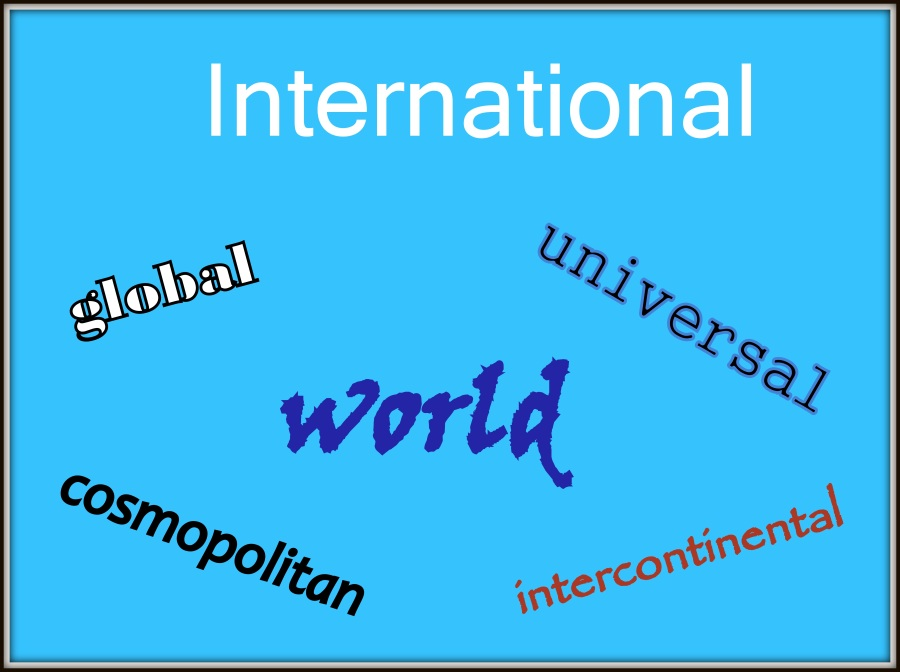 International synonyms
