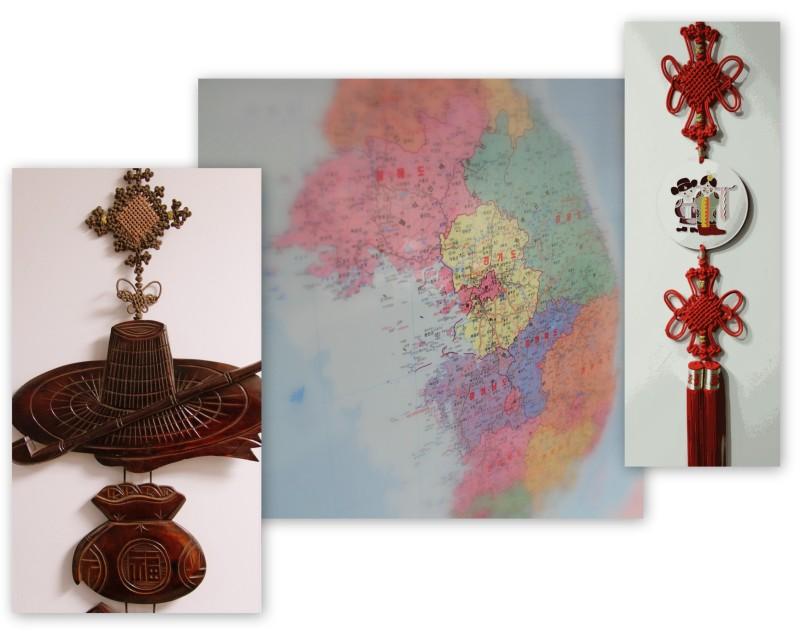 Korean collage