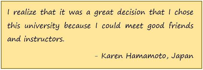 Karen quote
